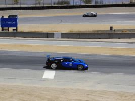 Bugatti Veyron on racetrack by Partywave