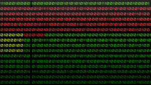 Binary Code PSP background by GrimLink