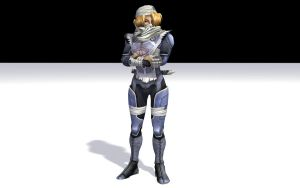 Sheik - Test Render by DarklordIIID