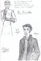 Dr. Horrible vs Sylar by Texas-Guard-Chic
