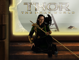 Loki. Thor - The Dark World by Taitiii