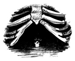 Anxiety Creature by ursulav