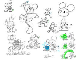 So Many Mickeys by RomaniZ