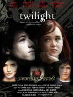 Twilight - the movie poster by pixie-skara