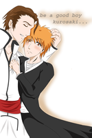 bleach-be a good boy by kyokoskos