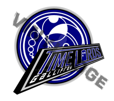 Gallifrey Time Lords Hockey Logo by Pegbeard