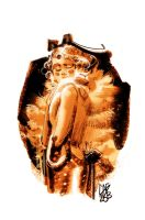 LADY WITH CAT by GigiCave