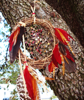 Pheonix Dream Catcher by xsaraphanelia