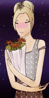 Thanx for the flowers - color by tomrilove