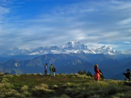 Anapurna mountain by Stereoboy