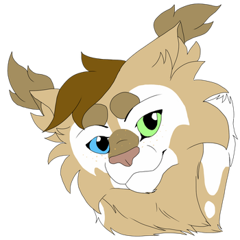 Alfa Headshot Commission by fluffylovey