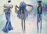 Fashion in blue by Tadja