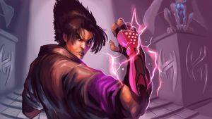 JIN - I am TEKKEN by es-jeruk