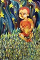 My Son and Stars by eliq