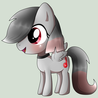 Pony Chibi Request from R3DM00N-BEAT5, Scarlet by Naruto-Cupcakes