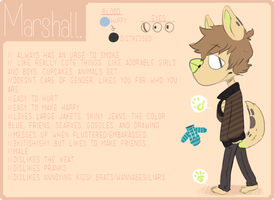 Marshall Ref by crownedmutt
