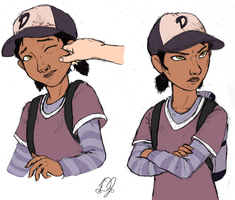 Clementine's Adorably Pinchable Cheeks by DJ-black-n-white