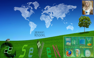 Windows 7 Desktop Theme 7.7 by SeraphSirius