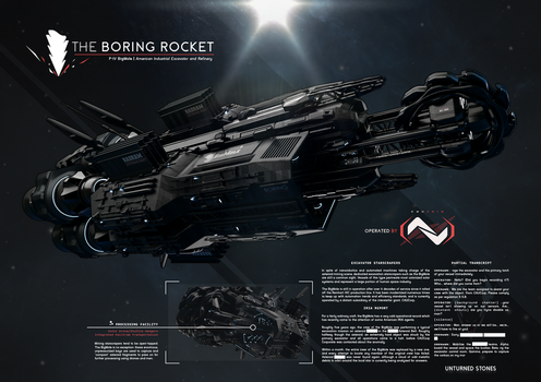 The Boring Rocket by prokhorvlg