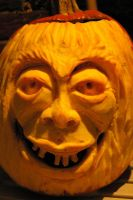 Carved Pumpkin last this year by PixelBlender
