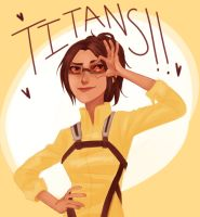 Hanji Zoe: the Titan Scientist by Jazzie560