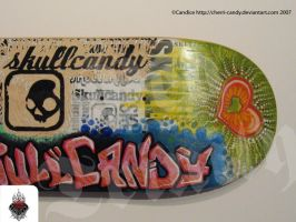 Customized Deck for SkullCandy by cherry-candi