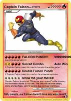 Captain Falcon Card by Masterluigi452