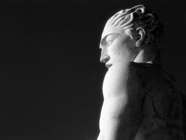 Art Deco Statue in Rome 3 by vanfoto