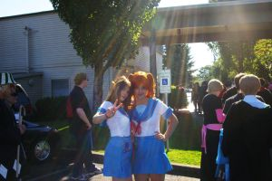 haruhi and mikuru by BubblegumGirl22