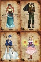 The Big 4 Steampunk by Redhead-K
