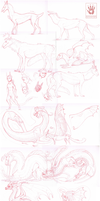 Sketch Dump by DemonML