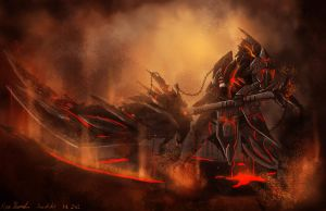 lava knight by ShinoShoe26