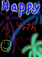 Happy forth of July!!!! by AgentKit95