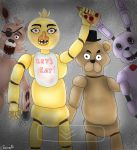 Five nights at Freddy's group picture by Shinyforest
