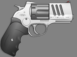 Pittbull Low Axis Revolver by sharp-n-pointy