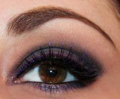 Duochrome Purple Makeup by Luhivy