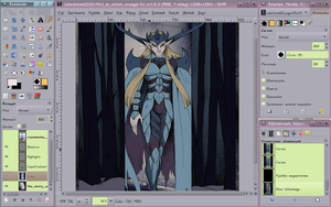 Such stuff as dreams are made on 1 - Color - WIP by Mali-chan