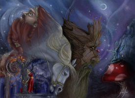 Magical characters by Alimac