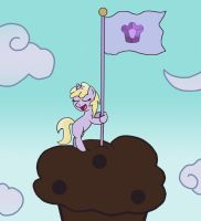 Queen of Dawberry Muffin by GoggleSparks