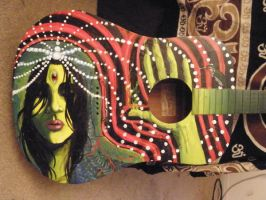 gypsy guitar by pisopez