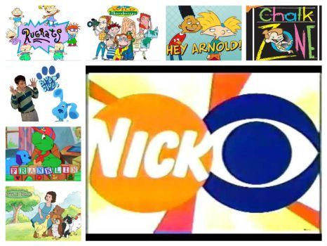 Nick On CBS Collage: September 2002-September 2005 by CraigS1996