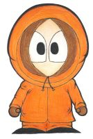 I draw Kenny :D by V-P-aurore-star