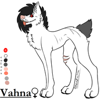 Char. Sheet - Vahna by waltzcat