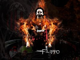 Filippo Inzaghi - AC Milan by Mohammed-AlSulaiti