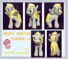Derpy Hooves Plushie v.3 by nooby-banana
