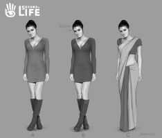 Indian female- Second Life- Linden Lab by Hamilton74