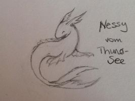 Nessy... from the Thunersee XD by Chiiritarisu