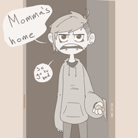 Momma's Home by Weaponized-Wafflez
