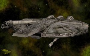 YT-1210 in Flight by jpapasso