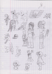 School-Doodles-4 by NebulaWords